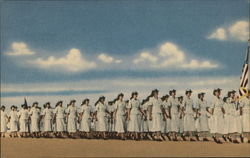 Women in the Air Force Basic Flight, Marching