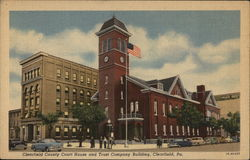 Clearfield County Court House and Trust Company Building