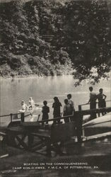 Camp Kon-O-Kwee Boating on the Connoquenessing, YMCA of Pittsburgh
