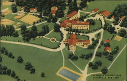 Aerial View of Nevele Country Club