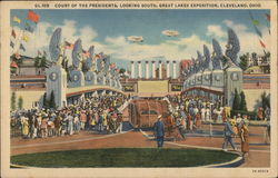 Court of the Presidents Looking South, Great Lakes Exposition