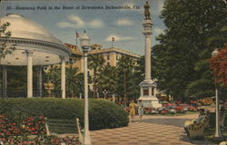Hemming Park in the Heart of Downtown