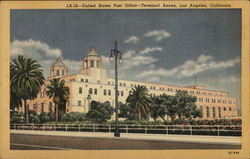 United States Post Office - Terminal Annex Postcard