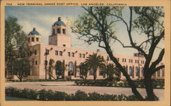 New Terminal Annex Post Office Postcard