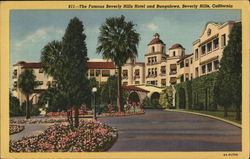 The Famous Beverly Hills Hotel and Bungalows
