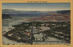 Air View, Boulder City, Nevada