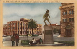 The Trojan Statue, University of Southern California