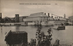 Madison Woolen Mill, Kennebec River