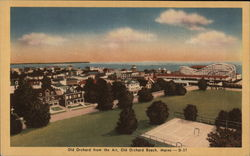 View of Old Orchard from the Air