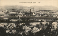Oxford Paper Mill Postcard