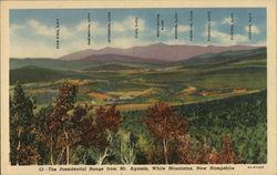 The Presidential Range from Mt. Agassiz