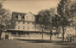 The Belmont Hotel Postcard