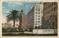 Jergin's Trust Building and the Breakers Hotel Postcard