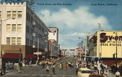 Fourth Street and Pine Avenue