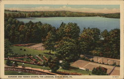 Gardens and Tennis Courts, The Lakeside