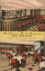 The American Bar & Restaurant, Hotel Times Square