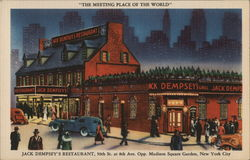 The Meeting Place Of The World, Jack Dempsey's Restaurant