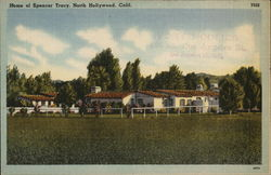 Home of Spencer Tracy Postcard