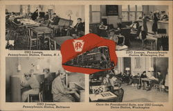 Pennsylvania Railroad Stations' USO Lounges