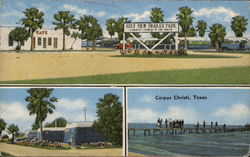 Gulf View Trailer Park Postcard