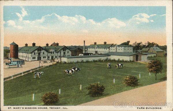 St. Mary's Mission House Techny Illinois