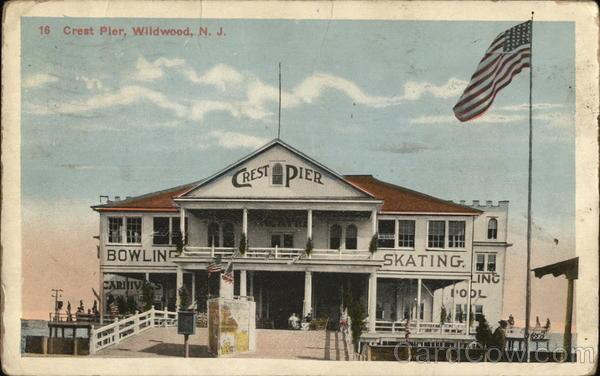 Crest Pier Wildwood New Jersey