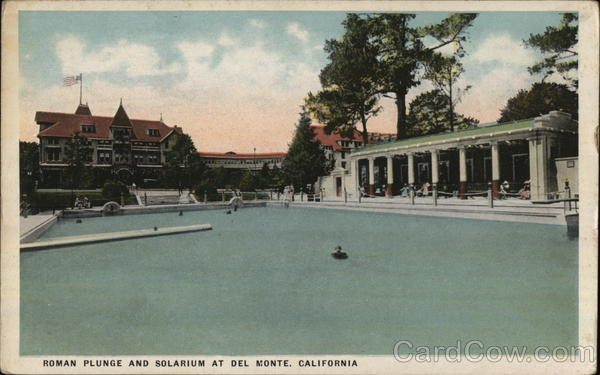 Roman Plunge and Solarium Del Monte California
