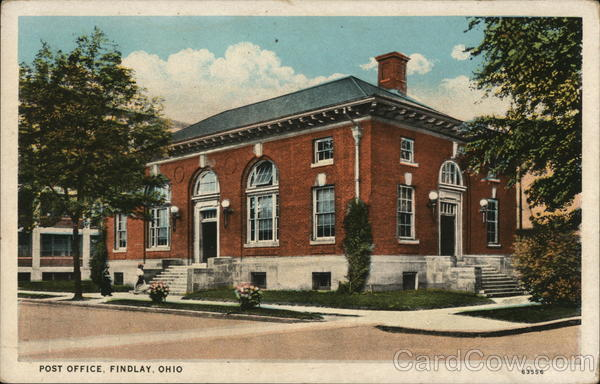 Post Office Findlay Ohio