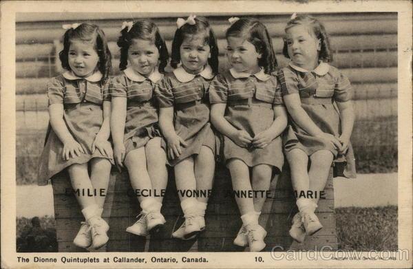 Dionne Quintuplets Callander Canada Ontario