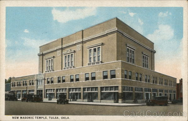 New Masonic Temple Tulsa Oklahoma