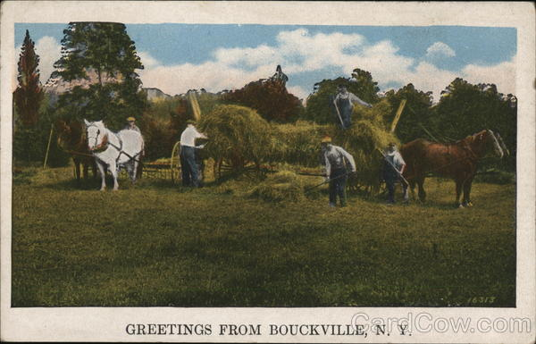 Greetings From Bouckville, N.Y. New York