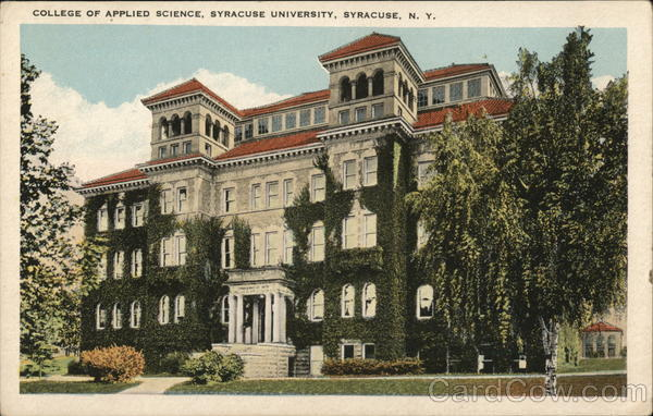 College of Applied Science, Syracuse University New York
