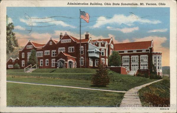 Administration Building, Ohio State Sanatorium Mount Vernon