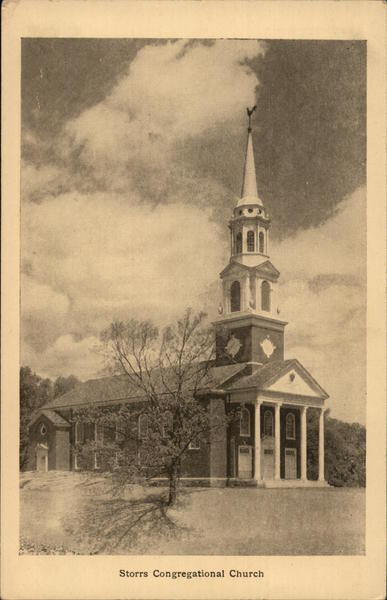 Storrs Congregational Church Connecticut