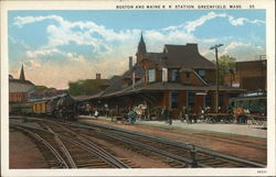Boston and Maine R R Station