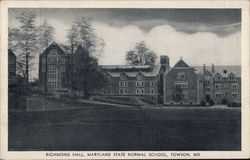 Richmond Hall, Maryland State Normal School