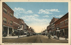 Second Avenue, Looking North, Albany