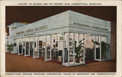IBM Gallery of Science and Art, Golden Gate International Exposition