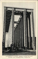 Colonnade of Statesd, Federal Exhibit Building, Golden Gate International Exposition