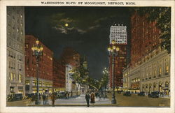 Washington Blvd. by Moonlight