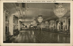 Crystal Ball Room, Book-Cadillac Hotel