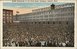 50,000 Employees of the Ford Motor Company