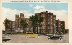Providence Hospital, West Grand Boulevard and 14th St.