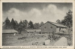 Officers' Headquarters, 301st U.S. Infantry, Boston's Own Camp Devens