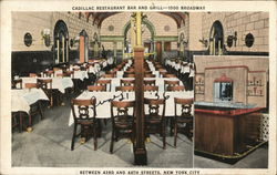 Cadillac Restaurant Bar and Grill, 1500 Broadway Between 43rd and 44th Streets