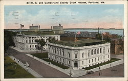 U.S. and Cumberland County Court Houses