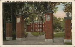 Class of 1878, Memorial Gate, Bowdoin College