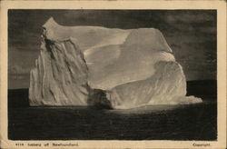 Iceburg Off Newfoundland