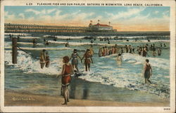 Pleasure Pier and Sun Parlor, Bathing in Midwinter
