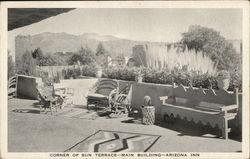Corner of Sun Terrace - Main Building - Arizona Inn